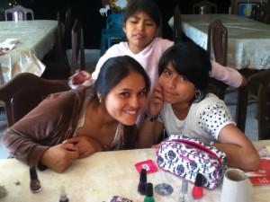 Sisters Sofia and Adriana