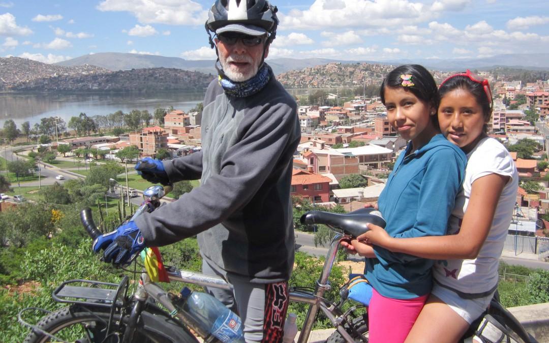 Biking adventure and dreaming big