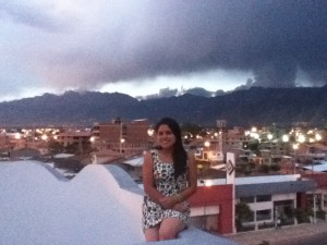View from the rooftop!