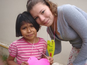 Tía Sarah and 7-year-old Bryssa (now Bryssa is 10!)