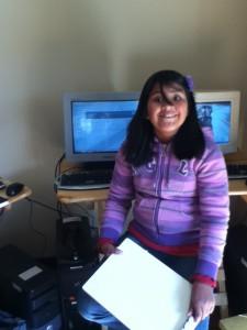 Mariela learning fractions